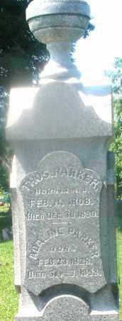 PARKER, THOMAS - Warren County, Ohio   THOMAS PARKER - Ohio Gravestone Photos