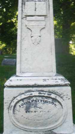 PATTERSON, JOHN - Warren County, Ohio | JOHN PATTERSON - Ohio Gravestone Photos