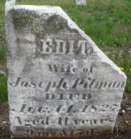PITMAN, EDITH - Warren County, Ohio | EDITH PITMAN - Ohio Gravestone Photos