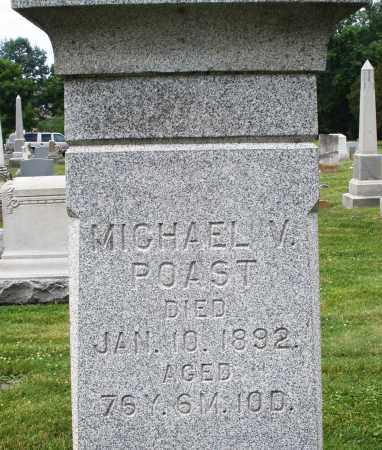 POAST, MICHAEL V. - Warren County, Ohio   MICHAEL V. POAST - Ohio Gravestone Photos