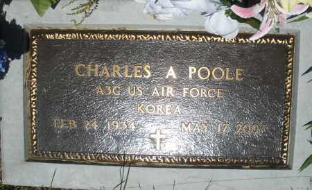 POOLE, CHARLES  A. - Warren County, Ohio | CHARLES  A. POOLE - Ohio Gravestone Photos