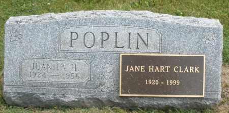 POPLIN, JUANITA H. - Warren County, Ohio | JUANITA H. POPLIN - Ohio Gravestone Photos