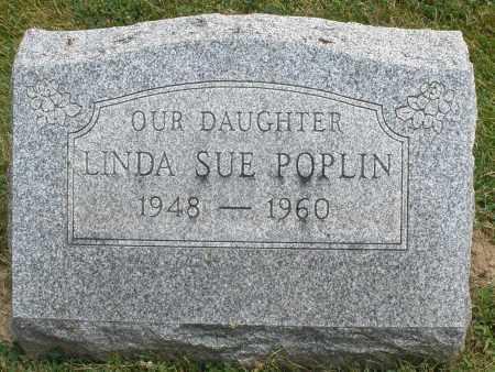 POPLIN, LINDA SUE - Warren County, Ohio | LINDA SUE POPLIN - Ohio Gravestone Photos
