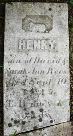 REES, HENRY - Warren County, Ohio | HENRY REES - Ohio Gravestone Photos