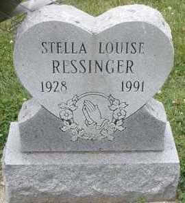 RESSINGER, STELLA LOUISE - Warren County, Ohio   STELLA LOUISE RESSINGER - Ohio Gravestone Photos