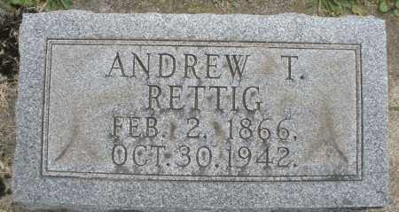 RETTIG, ANDREW T. - Warren County, Ohio   ANDREW T. RETTIG - Ohio Gravestone Photos