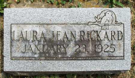 RICKARD, LAURA JEAN - Warren County, Ohio | LAURA JEAN RICKARD - Ohio Gravestone Photos
