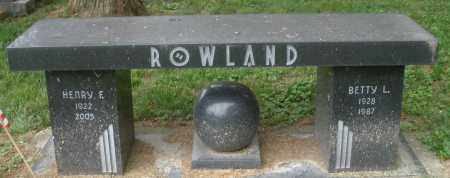 ROWLAND, HENRY E. - Warren County, Ohio | HENRY E. ROWLAND - Ohio Gravestone Photos