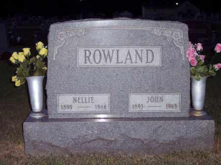 ROWLAND, NELLIE - Warren County, Ohio   NELLIE ROWLAND - Ohio Gravestone Photos