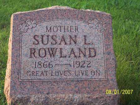 THOMAS ROWLAND, SUSAN L. - Warren County, Ohio | SUSAN L. THOMAS ROWLAND - Ohio Gravestone Photos