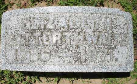 SATTERTHWAITE, ELIZABETH - Warren County, Ohio | ELIZABETH SATTERTHWAITE - Ohio Gravestone Photos