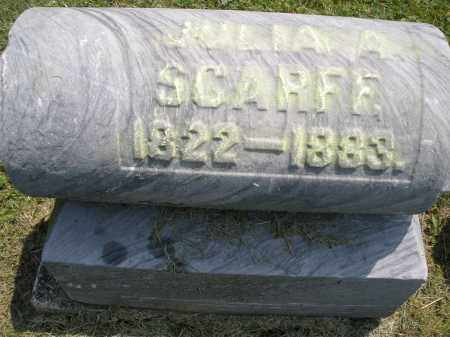 SCARFF, JULIA A. - Warren County, Ohio | JULIA A. SCARFF - Ohio Gravestone Photos