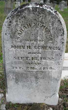 SCHENCK, SARAH - Warren County, Ohio | SARAH SCHENCK - Ohio Gravestone Photos
