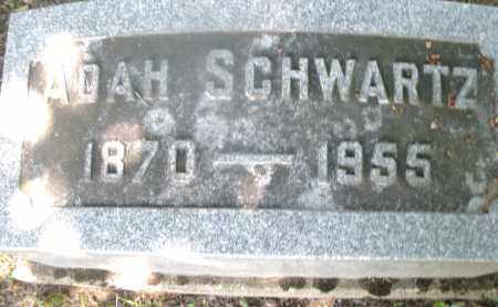 SCHWARTZ, ADAH - Warren County, Ohio | ADAH SCHWARTZ - Ohio Gravestone Photos