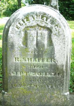 SHAFFER, ELIZABETH C. - Warren County, Ohio   ELIZABETH C. SHAFFER - Ohio Gravestone Photos