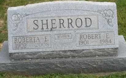 SHERROD, ROBERTA E. - Warren County, Ohio | ROBERTA E. SHERROD - Ohio Gravestone Photos