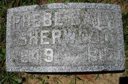 SHERWOOD, PHEBE - Warren County, Ohio | PHEBE SHERWOOD - Ohio Gravestone Photos