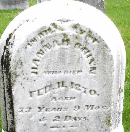 SHINN, HANNAH - Warren County, Ohio | HANNAH SHINN - Ohio Gravestone Photos
