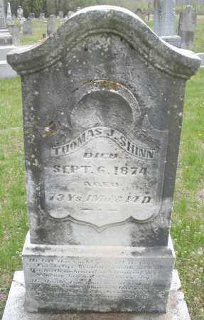 SHINN, THOMAS J. - Warren County, Ohio | THOMAS J. SHINN - Ohio Gravestone Photos