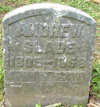 SLADE, ANDREW - Warren County, Ohio | ANDREW SLADE - Ohio Gravestone Photos