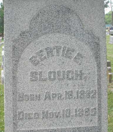 SLOUGH, BERTIE E. - Warren County, Ohio | BERTIE E. SLOUGH - Ohio Gravestone Photos