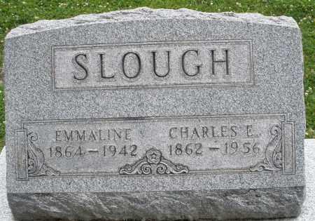 SLOUGH, CHARLES  E. - Warren County, Ohio | CHARLES  E. SLOUGH - Ohio Gravestone Photos