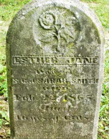 SMITH, ESTHER JANE - Warren County, Ohio | ESTHER JANE SMITH - Ohio Gravestone Photos