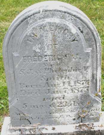 SMITH, FREDERICK - Warren County, Ohio | FREDERICK SMITH - Ohio Gravestone Photos