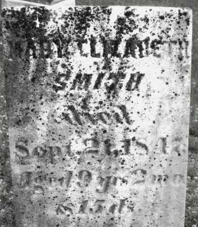 SMITH, MARY ELIZABETH - Warren County, Ohio | MARY ELIZABETH SMITH - Ohio Gravestone Photos