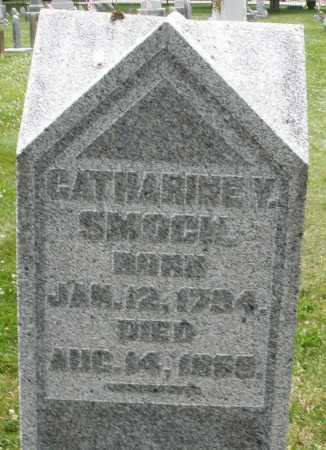 SMOCK, CATHARINE V. - Warren County, Ohio   CATHARINE V. SMOCK - Ohio Gravestone Photos