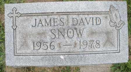 SNOW, JAMES DAVID - Warren County, Ohio | JAMES DAVID SNOW - Ohio Gravestone Photos