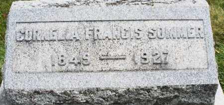 SOMMER, CORNELIA FRANCIS - Warren County, Ohio | CORNELIA FRANCIS SOMMER - Ohio Gravestone Photos