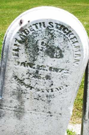 STICKELMAN, ELIZABETH - Warren County, Ohio | ELIZABETH STICKELMAN - Ohio Gravestone Photos
