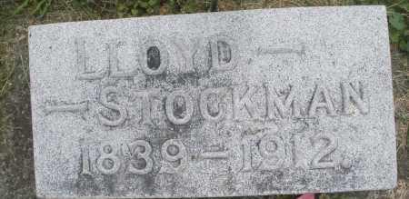 STOCKMAN, LLOYD - Warren County, Ohio | LLOYD STOCKMAN - Ohio Gravestone Photos