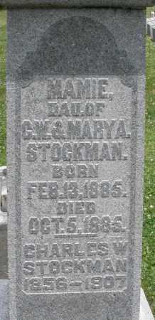 STOCKMAN, CHARLES W. - Warren County, Ohio | CHARLES W. STOCKMAN - Ohio Gravestone Photos