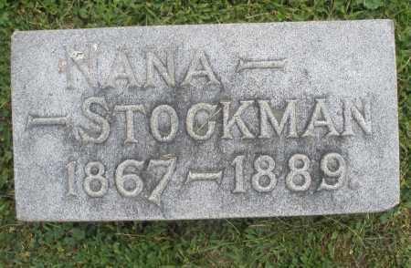 STOCKMAN, NANA - Warren County, Ohio | NANA STOCKMAN - Ohio Gravestone Photos