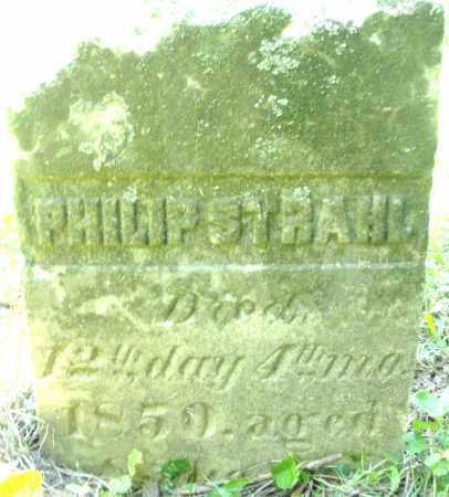 STRAHL, PHILIP - Warren County, Ohio | PHILIP STRAHL - Ohio Gravestone Photos