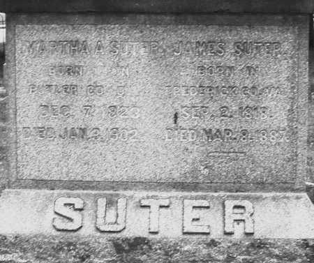 SUTER, MARTHA A. - Warren County, Ohio | MARTHA A. SUTER - Ohio Gravestone Photos