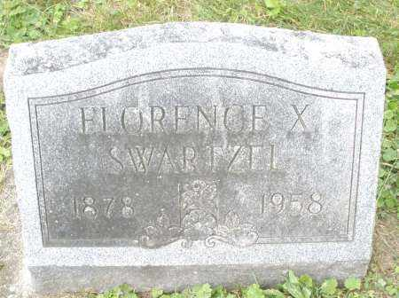 SWARTZEL, FLORENCE X. - Warren County, Ohio | FLORENCE X. SWARTZEL - Ohio Gravestone Photos