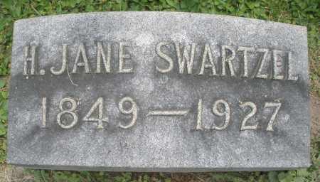 SWARTZEL, H. JANE - Warren County, Ohio | H. JANE SWARTZEL - Ohio Gravestone Photos