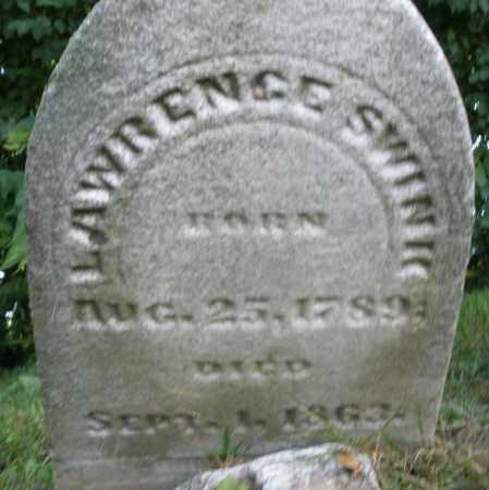 SWINK, LAWRENCE - Warren County, Ohio | LAWRENCE SWINK - Ohio Gravestone Photos