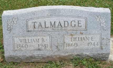 TALMADGE, LILLIAN E. - Warren County, Ohio   LILLIAN E. TALMADGE - Ohio Gravestone Photos