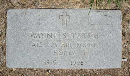 TATEM, WAYNE S. - Warren County, Ohio | WAYNE S. TATEM - Ohio Gravestone Photos