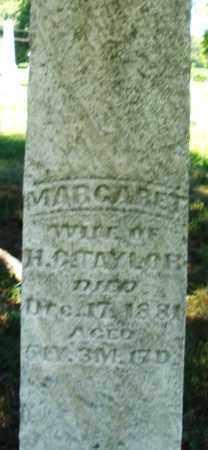 TAYLOR, MARGARET - Warren County, Ohio | MARGARET TAYLOR - Ohio Gravestone Photos
