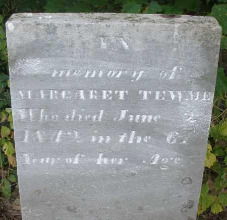 TEWME, MARGARET - Warren County, Ohio | MARGARET TEWME - Ohio Gravestone Photos