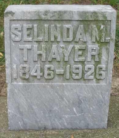 THAYER, SELINDA M. - Warren County, Ohio | SELINDA M. THAYER - Ohio Gravestone Photos