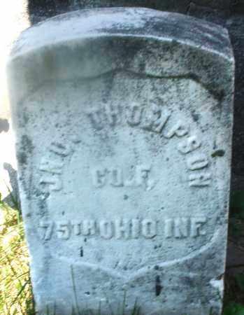 THOMPSON, JOHN - Warren County, Ohio | JOHN THOMPSON - Ohio Gravestone Photos