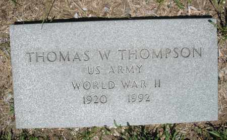 THOMPSON, THOMAS W. - Warren County, Ohio | THOMAS W. THOMPSON - Ohio Gravestone Photos