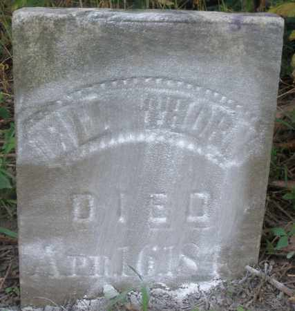 THORN, ELI - Warren County, Ohio | ELI THORN - Ohio Gravestone Photos