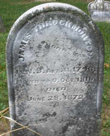 THROCKMORTON, JAMES - Warren County, Ohio | JAMES THROCKMORTON - Ohio Gravestone Photos